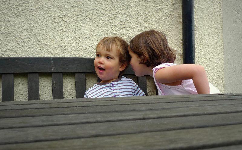 kids whisper